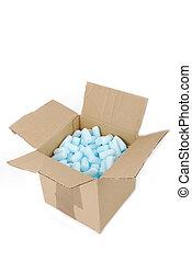 box with fragile foam