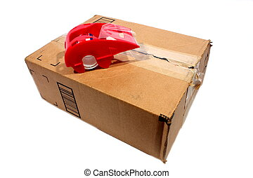 Box with Packing Tape