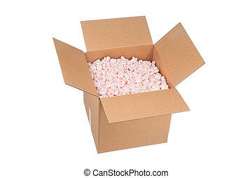 Box with padding