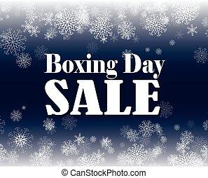boxande dag, försäljning