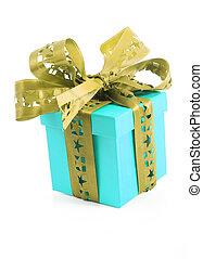 boxas, box., gåva, födelsedag, överraskning, julklapp