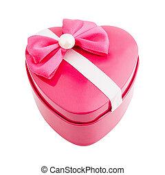 boxas, hjärta gestalta, gåva bocka