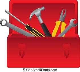 boxas, verktyg