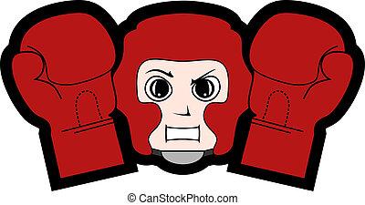 boxe, ícone