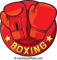 boxe, etiqueta