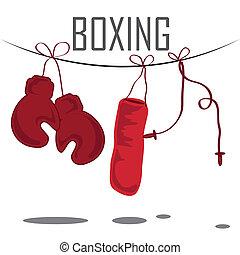 boxe, ferramentas