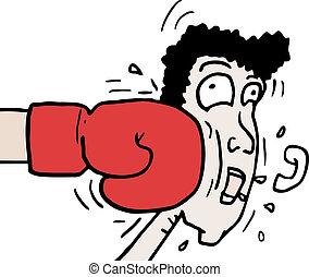 boxeo, puñetazo