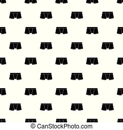 Boxers underpants pattern vector seamless repeating for any...