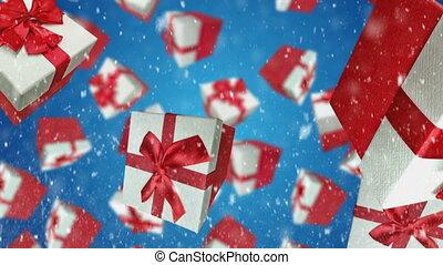 boxes, подарок
