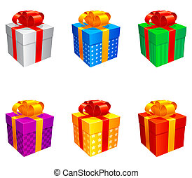 boxes., cadeau