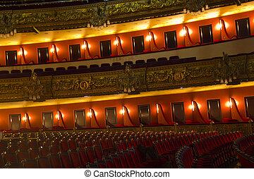 Boxes of Teatro Liceu, Barcelona,