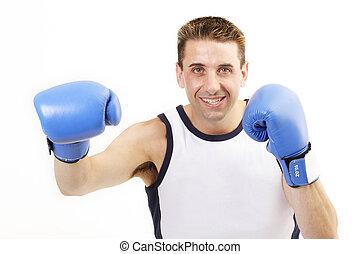 boxeur, poinçon