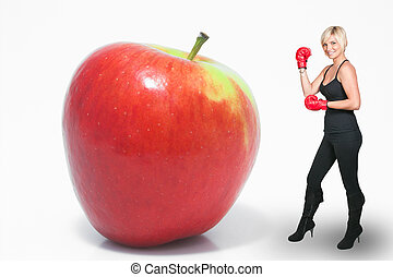 Boxing Apple