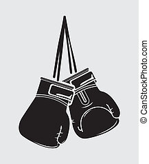 boxing design over white  background vector illustration