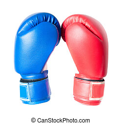 Boxing Gloves - Boxing gloves isolated on white background