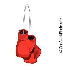 boxing gloves isolated icon design - boxing gloves isolated...