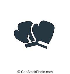 boxing handschoenen, pictogram