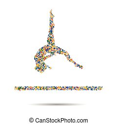 Boxing icon, Rio icon, Olympic icon. vector illustration. -...