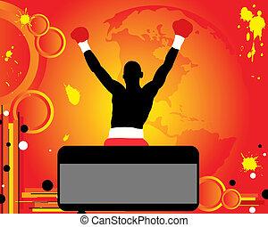 boxing, overwinnaar