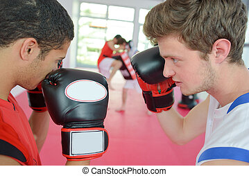 boxing partner