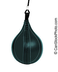 Boxing pear hanging