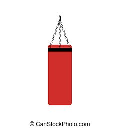 boxing punching bag icon