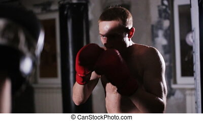 Boxing Training with a Coach - Training Punches With a Coach