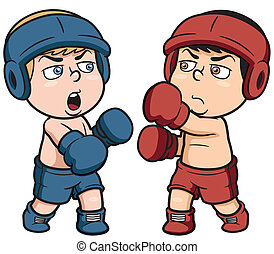 Boxing - Vector illustration of boxing