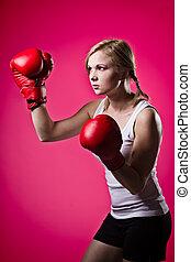 boxing, vrouw