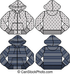 Boy And Girl Fashion Hoodies