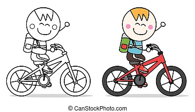 boy bicycle