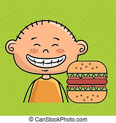 boy burger fast food