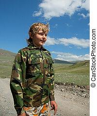 Boy camouflage