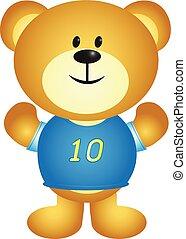 Boy Cartoon Bear