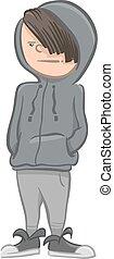 boy character cartoon illustrattion - Cartoon Illustration ...