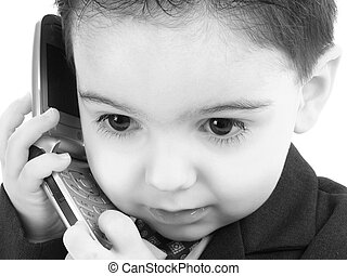Boy Child Cellphone