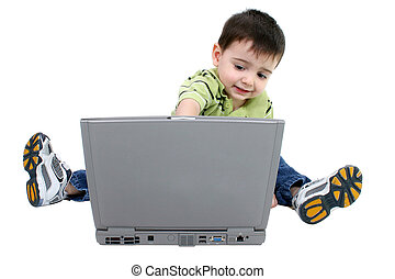 Boy Child Laptop