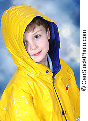Boy Child Rain Coat