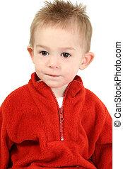 Boy Child Red