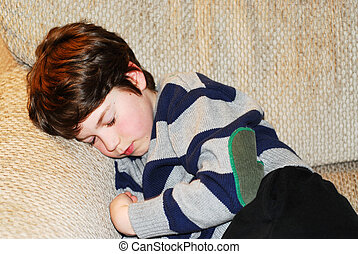 Boy child sleeping