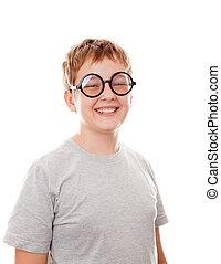 boy close up portrait