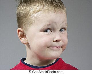 boy expression