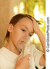 boy fell ill with a cold