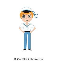 Boy Future Sailor