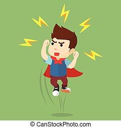 Boy have a super power