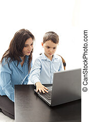 first computer lesson