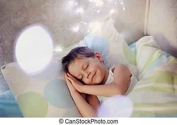 boy in bed