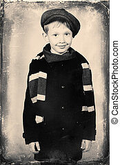 boy in coat