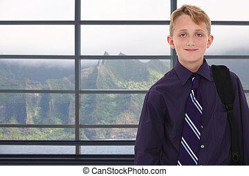 Boy in Hawaii