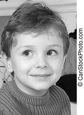 Boy in Monochrome